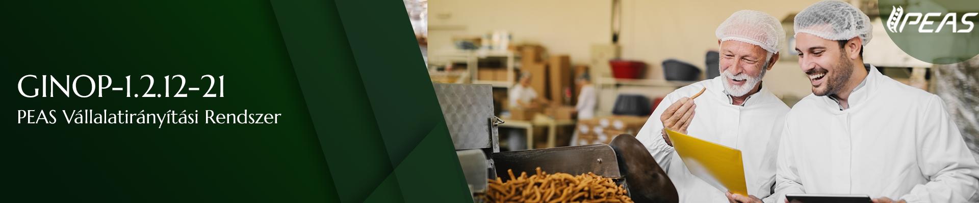 Élelmiszeripari pályázat -infokommunikációs fejlesztés